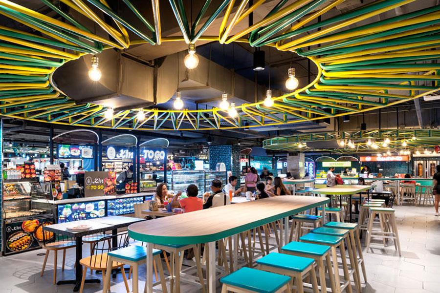 Food-Hall Bangkok